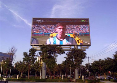 चीन Advertising P8 Smd Led Screen Display , Commercial Led Outdoor Screen High Refresh Rate वितरक
